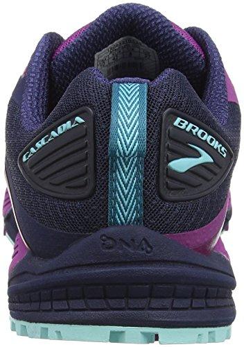 Brooks Damen Cascadia 12 Traillaufschuhe Mehrfarbig (Plumnavyice Blue 1b533)