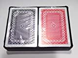 DFS Premium Plastic Washable Playing Cards (Set of 2)