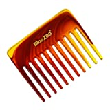 jieGREAT  Wide Tooth No-static Massage Hair Natural Comb Massage Comb Slicked-Back Hair