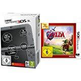 New Nintendo 3DS XL metallic schwarz (TN Variant) & The Legend of Zelda: Ocarina of Time 3D - Nintendo Selects - [3DS]