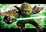 Tapetokids Fototapete - Star Wars Meister Yoda - Vlies 368 x 254 cm (Breite x Höhe) - Wandbild Star Wars