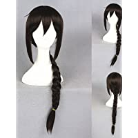BBDM 36inch parrucca medio lungo parrucca durarara orihara Mairu parrucca cosplay capelli castani sintetico del anime cosplay cs-229B