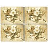 Pimpernel Tischsets Sugar-Magnolia-Set, 4 Stück, groß
