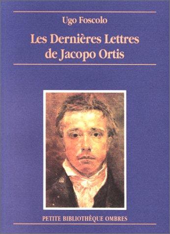 Les Dernières Lettres de Jacopo Ortis