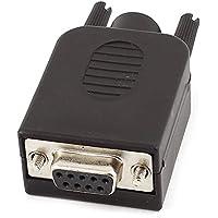 Adattatore convertitore - SODIAL(R) DB9-M9 Connectore stabile di 9 spillo di femmine Adattatore convertitore per (Piastra Terminale Adattatore)