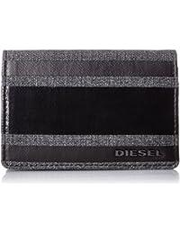 Diesel Dukez - Denim/Leather Bi-Fold Hombres Carteras