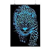 Panthère Animal Se faufiler Puma Chat Matte/Glacé Affiche A2 (60cm x 42cm) | Wellcoda