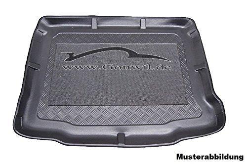 Anti-Rutsch Kofferraumwanne Kofferraummatte Laderaumwanne Kofferraumschutz mit hohem Rand passgenau