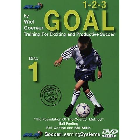 1–2-3objetivo formación de fútbol DVD Videos 1–2-3objetivo Disco 1–55minutos