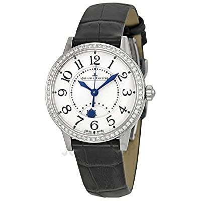 Jaeger LeCoultre Jaeger LeCoultre Rendez-Vous Night and Day Silver Dial Diamond Leather Ladies Watch Q3468421