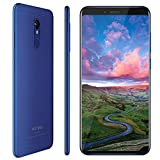 Vernee Sim Free Mobile Phone, M6 Unlocked Smartphone with 5.7 Inch 18:9 Display,2.5D Slim Metal Body,16MP + 13MP Camera,4GB Ram+64GB Rom, MTK6750C Octa-core Processor, 3300mAh Battery, Android 8.1