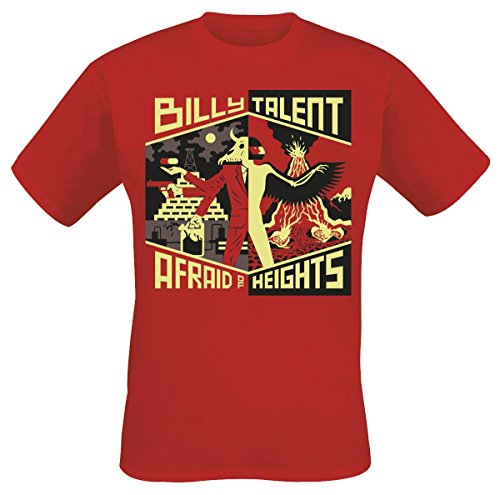 Billy Talent Afraid Of Heights T-Shirt rosso XL