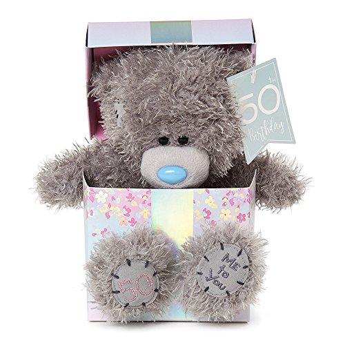 Me to You 50th Birthday Tatty Teddy Bear in Box
