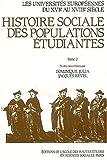Les universités européennes du XVIe au XVIIIe siècle, tome 2. La France