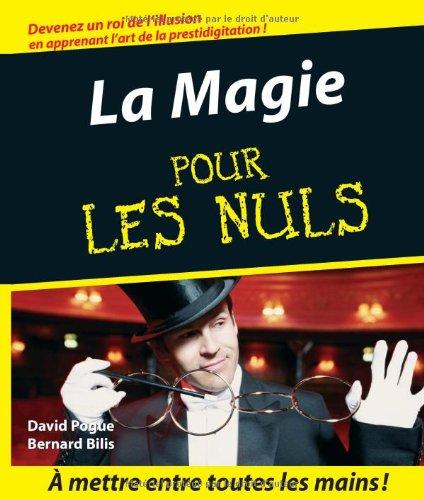 MAGIE POUR LES NULS par DAVID POGUE