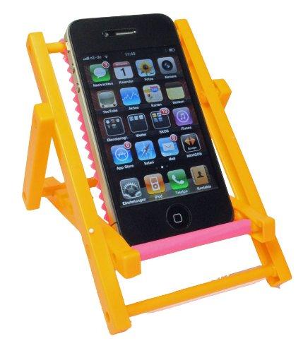 Kar@Kas * Handyhalter 66* Sonnenliege ORANGE* klappbar für IPHONE Sony Ericsson, Siemens, Nokia, LG
