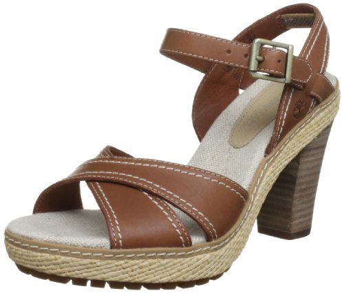 Timberland Ek Chauncey 3928R, Damen Sandalen, Braun (Medium Brown), 41,5 EU / 8 UK