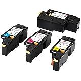 FDC–Cartucho de tóner compatible Xerox Phaser 6020, 6022WorkCentre 6025, 6027, 6028impresoras de cartuchos de tóner, color negro, cian, Magenta, amarillo