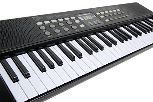 AXMAN T315853 Keyboard inkl. Mikrofon und Netzteilanschluß, 54 Tasten, batteriebetrieben 6 x AA (nicht im Lieferumfang enthalten) - 2