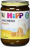 HiPP Milchbrei Babykeks, 6er Pack (6 x 190 g)