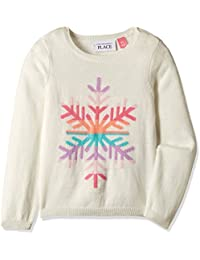 The Children's Place Baby Girls' Knitwear (2070322SV_Snow_18-24 M)