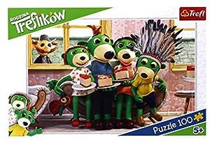 Puzzle 100 Rodzina Treflików Zabawa w Indianina