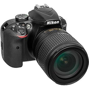 "Nikon D3400 Fotocamera Reflex Digitale con Obbiettivo Nikkor AF-S 18/105VR, 24,7 Megapixel, LCD da 3"", SD da 8 GB 300x Premium Lexar, Nero [Nital Card: 4 Anni di Garanzia]"