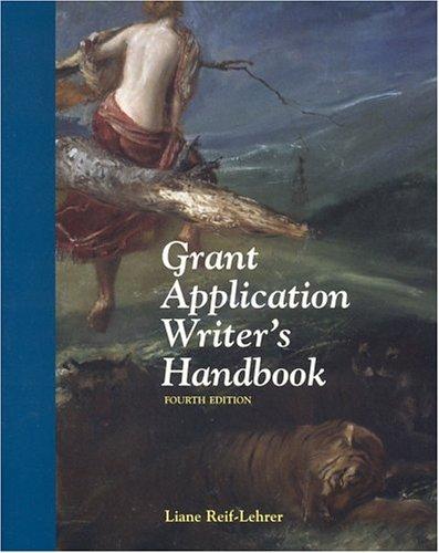 Grant Application Writer's