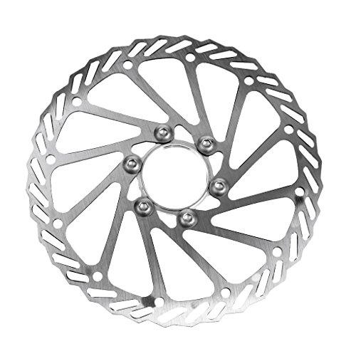 MagiDeal 160mm Freno de Disco Ajusta a Rueda Delantera Trasera Accesorio para Bicicleta de Montaña Carreras de Universal