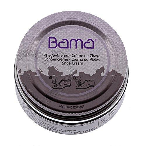 Bama Schuhcreme, Pflegecreme  im Glastiegel für Glattleder, optimale Pflege für Lederschuhe, Petrol, 50 ml