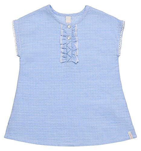 ESPRIT KIDS Baby-Mädchen RL3005102 Kleid, Blau (Light Heather Blue 406), 92