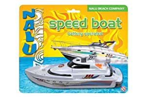 Nalu Battery Operated Speed Boat Bath Toy
