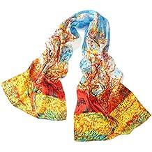 Prettystern - 100% las mujeres de seda de la bufanda obra pintura de Van Gogh Art Print