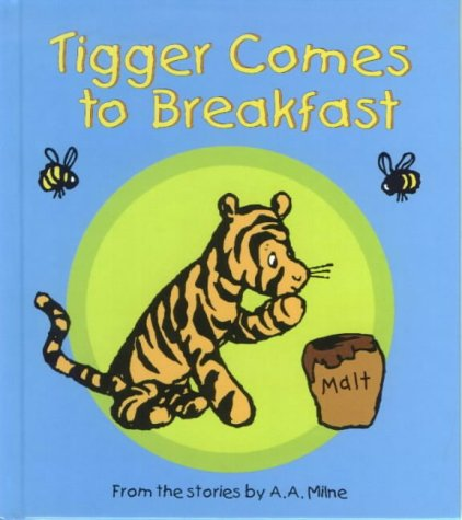 Tigger comes to breakfast