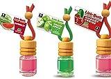 3 elegante Duftflakons für Auto und Wohnung Bestseller Mix: 1 x Green Apple - Apfel, 1 x Cherry - Kirsche, 1 x Watermelon - Wassermelone - 51V9RdozEWL - 3 elegante Duftflakons für Auto und Wohnung Bestseller Mix: 1 x Green Apple – Apfel, 1 x Cherry – Kirsche, 1 x Watermelon – Wassermelone