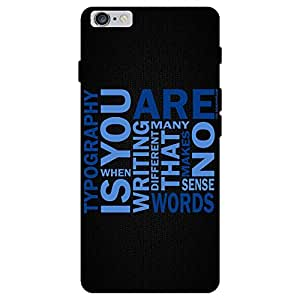Print India 765W Mobile Back Cover for I Phone 6s Plus