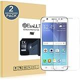 EasyULT [2-Pack] Pellicola Protettiva Samsung Galaxy J5 2015 2 Pack Pellicola Protettiva in Vetro Temperato per Samsung Galaxy J5 2015 (Vetro con Durezza 9H, Spessore di 0,26 mm)