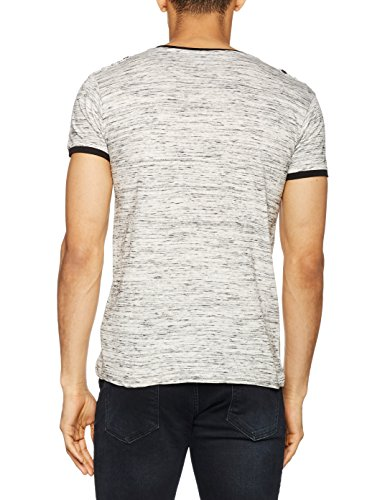 Inside Herren T-Shirt 3ecn108 Grau (Grey)