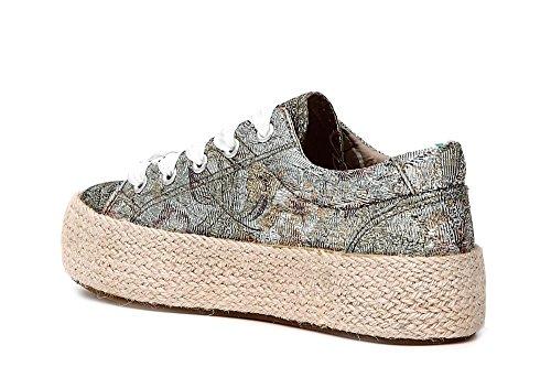 Bild von CAFèNOIR DH904 MULTICIPRIA Scarpa Donna Sneakers Allacciata in Tessuto Lurex