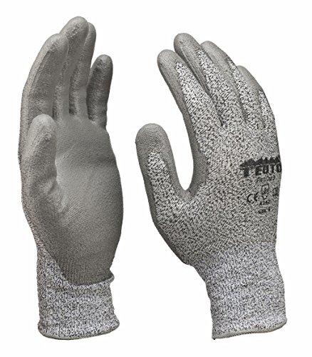 Gants de protection pour découpe Gants de travail Montage Cuisine Gants Classe de protection 3 Taille 8/48 paires
