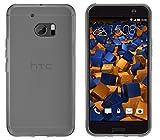 mumbi Schutzhülle HTC 10 Hülle transparent schwarz