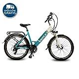 City-bike elettrica 26quot Bicicletta bici elettrica pedalata assistita DME Pedelec