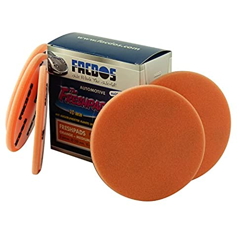 FACDOS FreshPad Orange Mittelhart 150 mm x 10 mm, 5