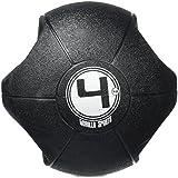 Gorilla Sports 10000529 - Balón de ejercicio ( hasta 5 kg, más de 5 kg, hasta 30 cm, 4 kg, grip dual ) , talla 4 kg