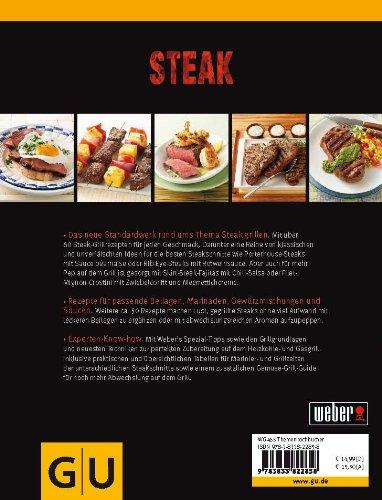 51V9VuQt3rL - Weber's Grillbibel - Steaks (GU Weber's Grillen)