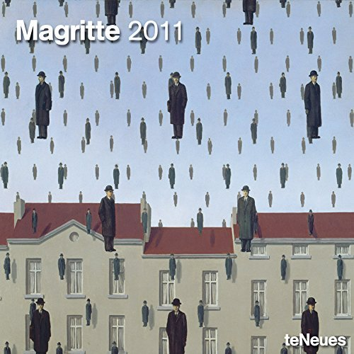 2011 Magritte Grid Calendar (Square Wall Cal) by teNeues (2010-07-31) (Magritte Kalender)