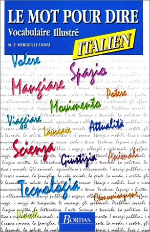 M.P.DIRE ITALIEN VOC. (Ancienne Edition) par Marie-France Merger-Leandri
