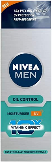 NIVEA MEN Moisturiser, Oil Control Cream, 50ml