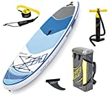 Bestway Hydro Force Oceana Tech Sup, color blanco azul, 305 x 84 x 15 cm