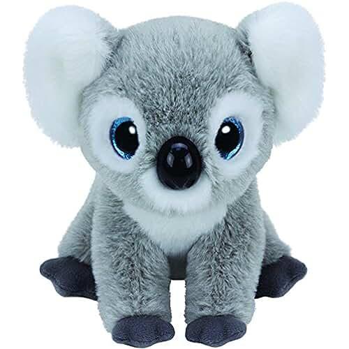 peluches TY - Beanie Babies Kookoo, koala, 15 cm (United Labels Ibérica 42128TY)